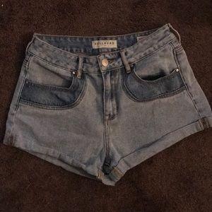 High rise pacsun shorts